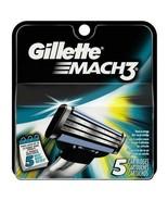 Gillette Mach 3 - 5 Cartridges  - $8.79
