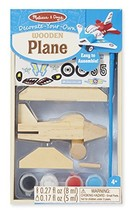 Melissa & Doug Decorate-Your-Own Wooden Plane Craft Kit - $6.62