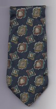 "Mens Geoffery Beene 100% silk Neck Tie 58"" long 3 1/2"" wide #2 Necktie - $9.50"