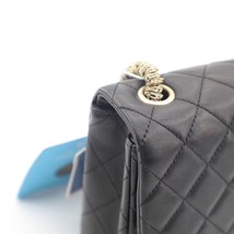 Auth Chanel Limited Ed Westminster Pearl Chain Quilted Lambskin Medium Flap bag image 10