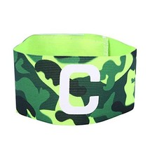 Player Bands, Durable Nylon Soccer Armband Adjustable Captain Bands for Outdoor