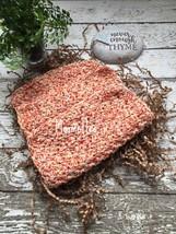 Dishcloth Set Handmade Kitchen Cotton Dish Cloth Yellow Orange Crochet W... - $18.75
