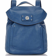 Marc Jacobs Backpack Totally Turnlock Deep Blue NEW - $225.72