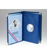 Sixty Anni Americana Topolino 1 Oz. Argento Rotondo W/ Box, Cartine, E C... - $98.99