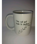 One cat just leads to another - Ernest Hemingway Collectible Coffee Mug ... - $22.76