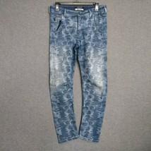 Maison Scotch Bedouin Blue Cropped Mid-Rise Womens Jeans Sz 6 Stretch  - $17.82