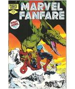Marvel Fanfare Comic Book #1 Spider-Man, Marvel Comics 1982 VERY FINE- U... - $5.24