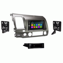 DVD BT GPS Navigation Multimedia Radio and Dash Kit for Honda Civic 2010... - $296.88