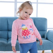 Dress Pink Sweater Romper Baby Cartoon Winter Baby Costume Kids Long Sleeve - $14.89
