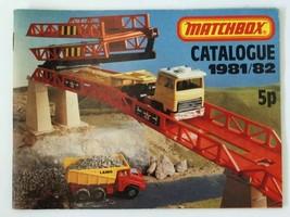 Vintage 1981/82 Matchbox Lesney Collector's Toy Dealer Catalog   - $28.71