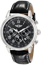 I By Invicta Men's 90242-001 Stainless Steel Watch with Black Band - $117.03