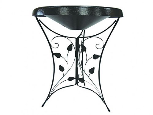 Birds Choice Ivy Pedestal Heated Bird Bath