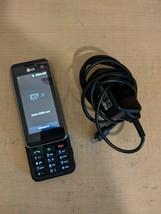 Rare LG KF700 Orange Cellphone Mobile Phone Vintage Cell Powers On, W/ C... - $29.99