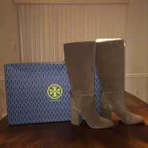 NIB Tory Burch Contraire Suede 90mm  Knee Boot in Size 10 - $298.84