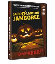 AtmosFX Jack-O'-Lantern Jamboree Digital Decorations - £28.66 GBP