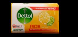 3 Bars Dettol 100gm Antibacterial Fresh Citrus Soap Bars - $17.10