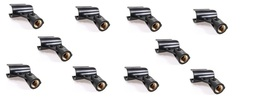 10 PACK Microphone Holder Clips microfoon standaard  Fits Shure SM58, SM57  - $21.48