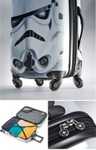 Star Wars Storm Trooper Suitcase 21in Luggage w/ Spinner Wheels Amer Tou... - $184.83
