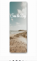 Seas The Day Eco Friendly Yoga Mat - $79.00