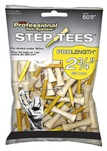 Pride Step Down Professional Tee System 2 3/4 Step Golf Tees 50 Count (4... - $5.02