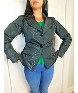 D. EXTERIOR MADE IN ITALY WOMEN'S JACKET BLAZER SIZE 44  - $19.79