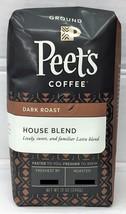 Peets House Blend Dark Roast Ground Coffee 12 oz Peet's - $11.75