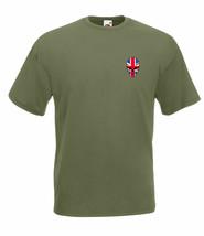 Union Jack Skull Graphic Design Quality t-shirt tee mens unisex - $12.02