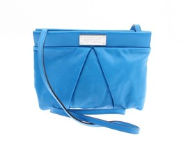 NWT Marc By Marc Jacobs, Women's Blue Glow Clutch Crossbody in Soft Leather - $127.71