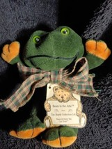 Frog Boyds Collection Ezra R. Ribbet Bears in the Attic Series 1991-97 s... - $7.92