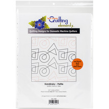Quilting Creations Printed Tear Away Quilting Paper 4/Pkg-Kandinsky-Peti... - $17.17