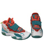 "NIKE AIR MAX SPEED TURF ""MIAMI DOLPHINS"" WHITE SZ 7Y SUPER RARE!! [53573... - $37.99"