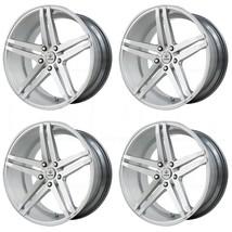 19x8.5/19x9.5 Verde V39 Parallax 5x120 30/36 Silver Machined Wheels Rims... - $723.95