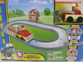 Paw Patrol Rocky's Barn Rescue Track Set Nickelodeon - $29.02