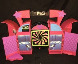 Polly Pocket Rock Studio play set + hangers  - $9.89