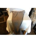 "Mens H&M Grey Slacks Size 33 Regular 100% Cotton 29.5"" Inseam - $37.13"