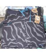 Patagonia Mens Sz 30 Gray Stretch Planing Board Shorts 19, Tiger Tracks ... - $59.38