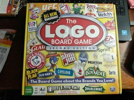 The Logo Board Game Spin Master Game About Brands You Love Brand New - $15.99
