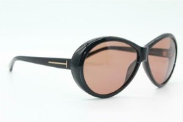 New Tom Ford Tf 202 Geraldine 01J Black Authentic Frames Sunglasses 62-12 - $144.00