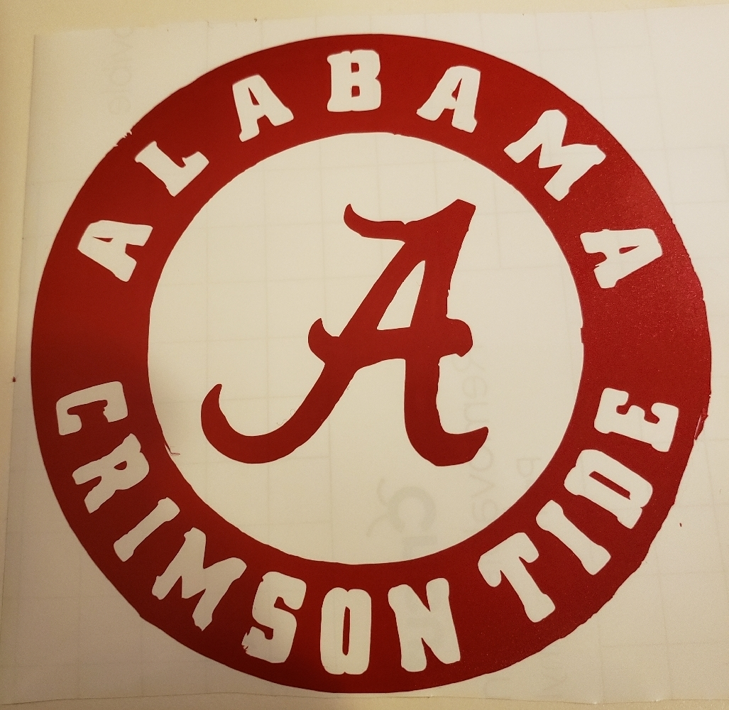 Primary image for alabama sticker
