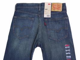 Levi's Strauss 505 Men's Original Straight Leg Cash Jeans Pants 505-1064 image 5