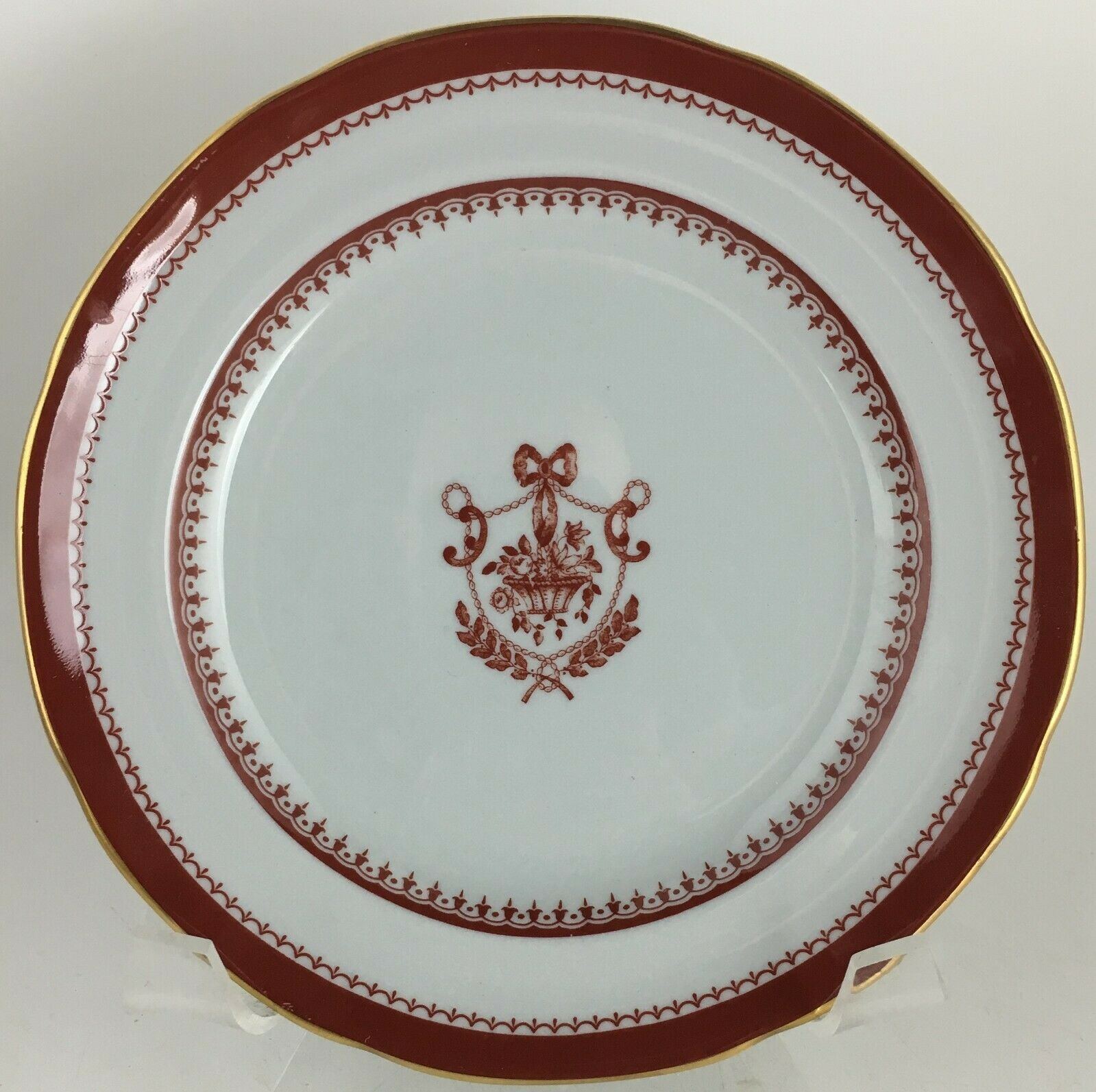 Spode Newburyport Y3360 Red Bread & butter plate - $10.00