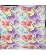 "DIANE VON FURSTENBERG Floral California King Duvet Cover Bed Spread 100""... - $54.44"