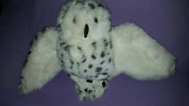 "Folkmanis Snowy Owl Hand Puppet - Head Rotates 360 Degrees 14"" with 22"" ... - $16.99"