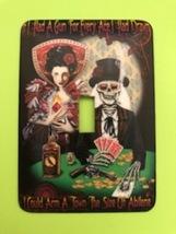 Grateful Dead Metal Switch Plate Rock&roll - $9.50