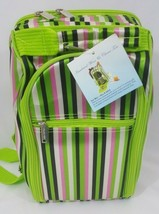 Del Mar Green Two Person Wine and Cheese Tote Picnic Set #2605 - $17.77