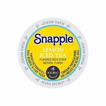 Snapple Lemon Iced Tea, 88 count Keurig K cups, FREE SHIPPING  - $62.63