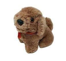 "5"" VINTAGE RUSS BERRIE CHU CHU BROWN PUPPY DOG STUFFED ANIMAL PLUSH TOY ... - $36.47"