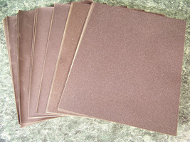 60pc SILICON CARBIDE Wet / Dry SANDPAPER SHEETS 9 x 11 Very Fine Coarse ... - $19.99