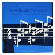 SONOMA VALLEY CHORALE 1978-1979 LP Record 70s Private Press California C... - $9.49