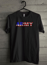 USA Flag ARMY - Custom Men's T-Shirt (631) - $19.13+